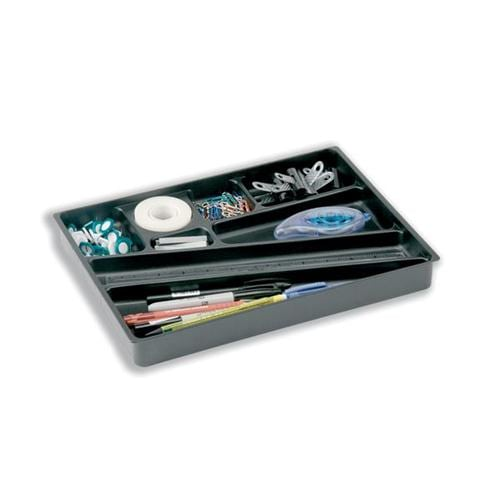 Durable Catch-All Drawer Insert 1712004058 | Made from high impact plastic | Eight different sized compartments | Fusion Office UK