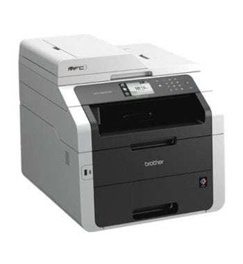 Brother Colour Laser Multifunctional Printer Duplex Network Wi-Fi A4 Ref MFC9340CDW - Fusion Office