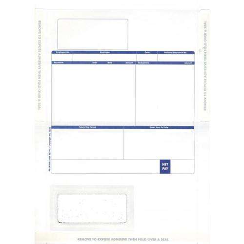 1000 SAGE COMPATIBLE STATEMENT//REMITTANCE FORMS ON LASER PAPER A4 210 X 297mm