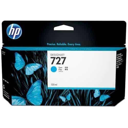HP 727 Cyan Ink Cartridge B3P19A | Original Authentic HP - Hewlett Packard | Great Everyday Pricing | Fusion Office