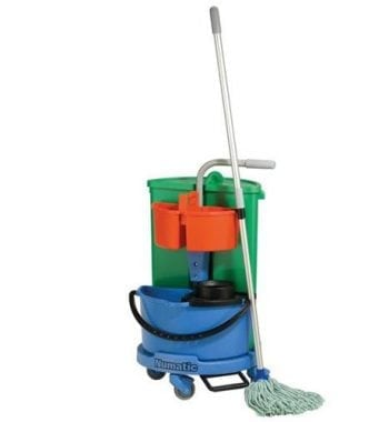 Janitorial Trolley and Caddies - Fusion Office