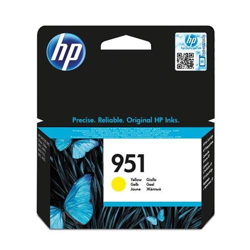 HP 951 Yellow Ink Cartridge CN052AE   Original Authentic HP - Hewlett Packard   Great Everyday Pricing   Fusion Office UK