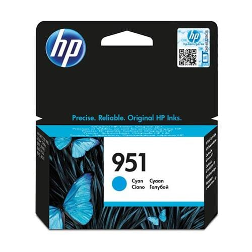 HP 951 Cyan Ink Cartridge CN050AE   Original Authentic HP - Hewlett Packard   Great Everyday Pricing   Fusion Office UK