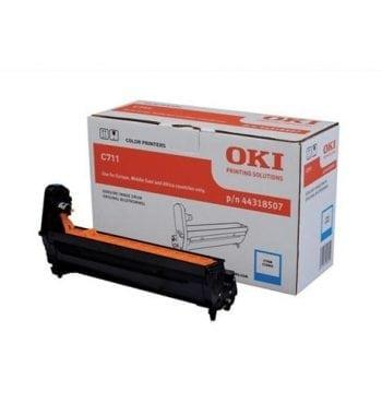 OKI Laser Imaging Drum Unit Cyan Ref 44318507