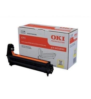 OKI Toner Laser Imaging Drum Unit Yellow Ref 44318505