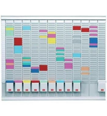 Nobo Maxi T-Card Kit 32 Slot 12x Size 2 Panels 1x Index Panel Ref 32938864 - Fusion Office