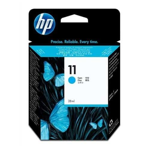 HP 11 Cyan Ink Cartridge C4836AE | Original Authentic HP - Hewlett Packard | Great Everyday Pricing | Fusion Office