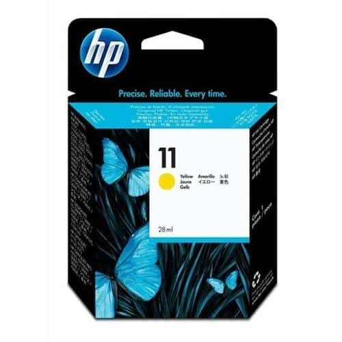 HP 11 Yellow Ink Cartridge C4838AE   Original Authentic HP - Hewlett Packard   Great Everyday Pricing   Fusion Office