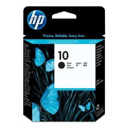 HP 10 Black Ink Cartridge C4844AE   Original Authentic HP - Hewlett Packard   Great Everyday Pricing   Fusion Office
