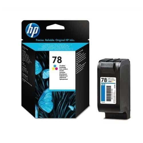 HP 78 Tri-Colour Ink Cartridge C6578DE | Original Authentic HP - Hewlett Packard | Great Everyday Pricing | Fusion Office