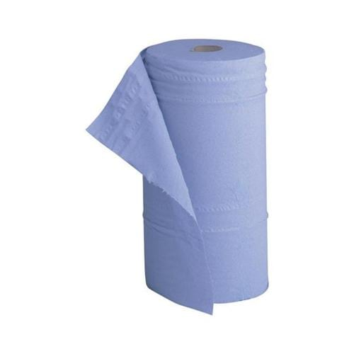 Hygiene Couch Roll 10 Inch Width Recycled 2-ply 130 Sheets W251xL457 40m Blue   Fusion Office