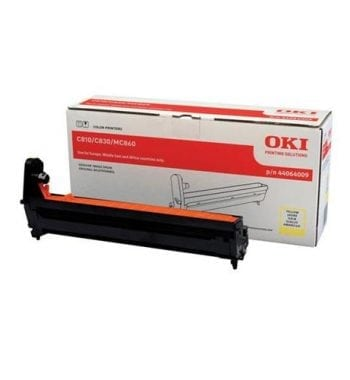 OKI Laser Imaging Drum Unit Yellow Ref 44064009