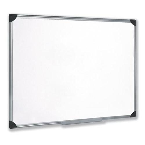 Magnetic Whiteboard 900x600 Aluminium Trim | Lightweight magnetic lacquered steel surface | Fusion Office