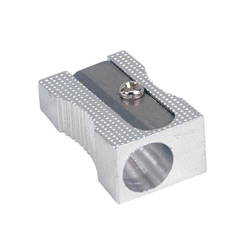 Metal Pencil Sharpeners 1 Hole [Pack 24] | Strong metal construction | Ideal for schools and office | Fusion Office