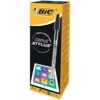 BIC Cristal Stylus Black Ball Pen 902124 [Pack 12] | Switch quickly between paper and touchscreens (Tablets & Smartphones) | Fusion Office UK
