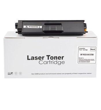 Compatible Brother TN325BK TN-325BK Black Toner - Fusion Office