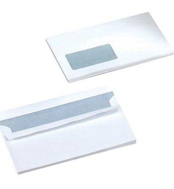 DL White Window Envelopes - Fusion Office