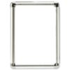 Display Snap Frame A1 Aluminium   Non-glass break-resistant front   Front loading   shiny corners   Fusion Office
