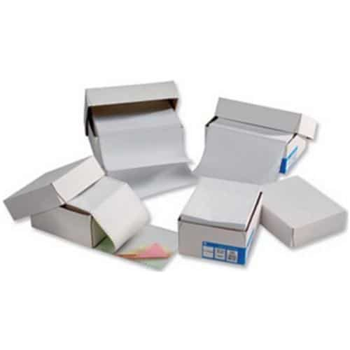 Listing Paper 279x241mm 1-Part Plain Micro-Perf 70gsm 2000 Sheets | Manufactured using PEFC certified paper | Fusion Office