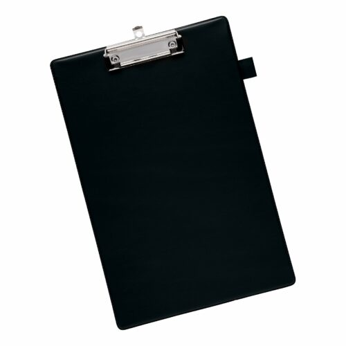 Clipboard Black Standard Foolscap   Fast UK Delivery   Fusion Office