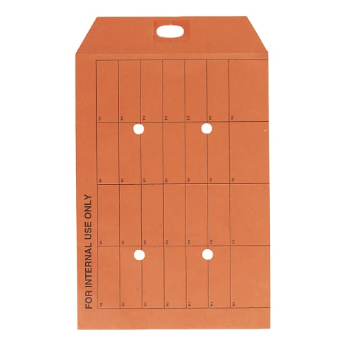 Internal Mail Envelopes C4 Orange [Pack 250] | Up to 64 mailings | Printed 'TO' boxes on front & reverse | Fusion Office