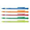 Mechanical Pencils 0.7mm [Pack 10] | Easily retractable mechanical pencil with ribbed finger grip & pocket clip | Fusion Office
