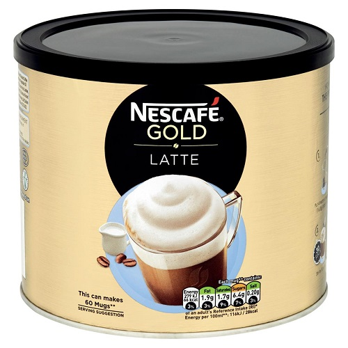 Nescafe Gold Latte Coffee 1kg   Recipe is crafted with high quality, carefully roasted coffee beans and fresh milk   Fusion Office UK