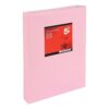 Paper A3 Light Pink 80gsm (500 Sheets) Ream | Colour code documents for ease of filing & identification | laser & Inkjet | Fusion Office UK
