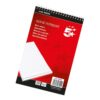 Shorthand Notepad 150 Sheets 127x200mm [Pack 10] | Reporters Notebook 300 Pages | Fusion Office
