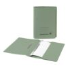 Spring Pocket Files Green Recycled [Pack 25] | Medium weight 285gsm 100% recycled manilla | A4/Foolscap | Fusion Office