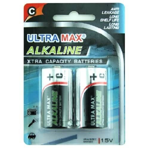 Ultra Max C Batteries Pack 2 - Fusion Office