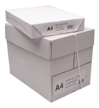 Fusion Value Copier Paper A4 White [5 x 500 Sheets] - Fusion Office