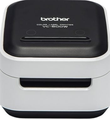 Brother VC-500W Full Colour Label Printer Front - Fusion Office