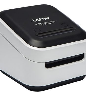 Brother VC-500W Full Colour Label Printer Right - Fusion Office