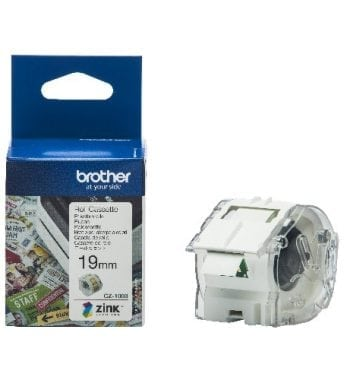 Brother CZ-1003 Continuous Roll 19mm x 5m Tape and Box - Fusion Office