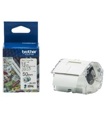 Brother CZ-1005 Continuous Roll 50mm x 5m Tape and Box - Fusion Office
