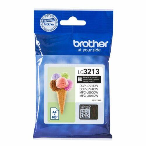 Brother Inkjet Cartridge Black Ref LC-3213BK LC3213BK - Fusion Office