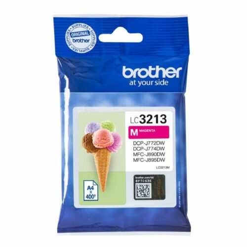Brother Inkjet Cartridge Magenta Ref LC-3213M LC3213M - Fusion Office