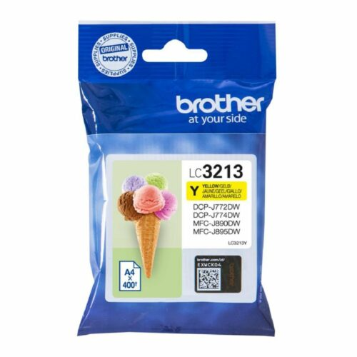 Brother Inkjet Cartridge Yellow Ref LC-3213Y LC3213Y - Fusion Office