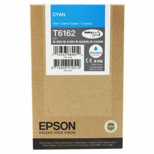 Epson Inkjet Cartridge Cyan Ref C13T616200 T6162 - Fusion Office