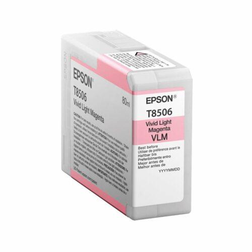 Epson Inkjet Cartridge Vivid Light Magenta Ref VLM C13T850600 T8506 - Fusion Office