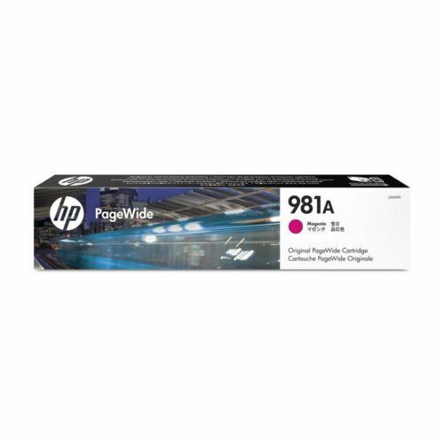 Hewlett Packard [HP] Inkjet Cartridge Magenta Ref 981A J3M69A - Fusion Office