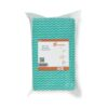 All Purpose Cleaning Cloths Green [Pack 50]   Anti-microbial to protect from bacteria build up   Absorbent & textured   Fusion Office