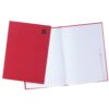 Hardback Notebooks A4 Indexed [Pack 5]   Known as Manuscript Books   96 Pages   Quality 70gsm ruled paper   Fusion Office