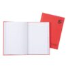 Hardback Notebooks A5 Indexed [Pack 5] | Known as Manuscript Books | 96 Pages | Quality 70gsm ruled paper | Fusion Office