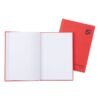 Hardback Notebooks A5 Ruled [Pack 5] | Known as Manuscript Books | 96 Pages | Quality 70gsm ruled paper | Fusion Office