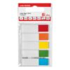 Index Flags 5 Bright Colours 20x5 (100) Flags [Pack 5] | Will stick on virtually any surface | Removable flags | Fusion Office