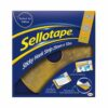 Sellotape Sticky Hook Strip 25mmx12m Permanent 1445179 | strong self-adhesive backing which will stick to most surfaces | Fusion Office UK