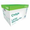 Style Optima Large Storage Box 430x355x290mm [Pack 10]