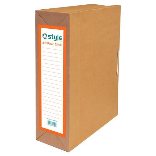 Style Optima Storage Case Bag with Laces 254x100x355mm [Pack 25]